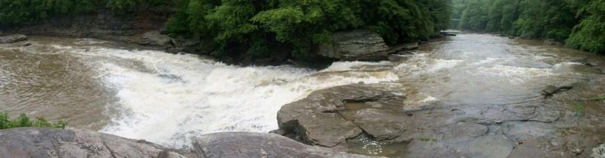 Rain at Swallow Falls