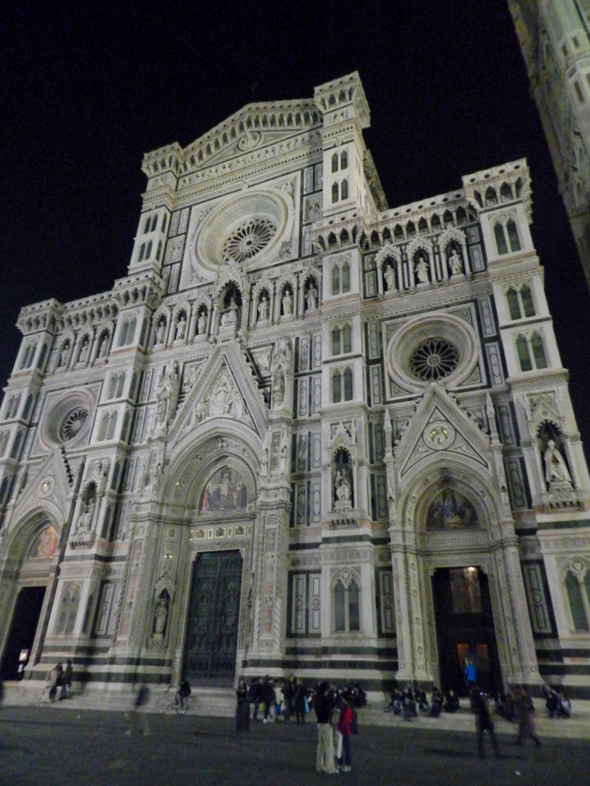 Pit-stop in Florence, Italy